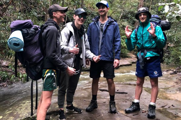 The blue mountains for a challenging duke of ed experience
